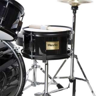 pcs Child Junior Drum Set +Cymbal+Stick+Stool~Black