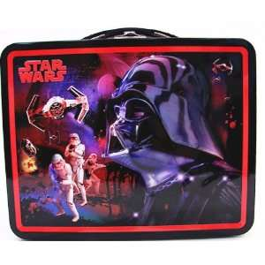 Star Wars Darth Vader and Troops Tin Lunchbox Everything