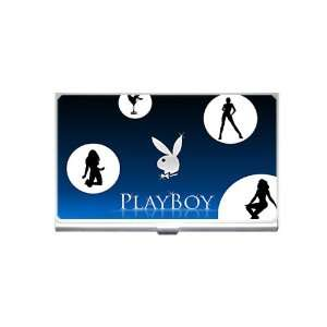 Play boy v1 Business Card Holder
