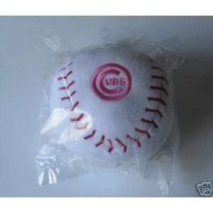 Chicago Cubs MLB Pink Embroidered Plush Team Ball Sports