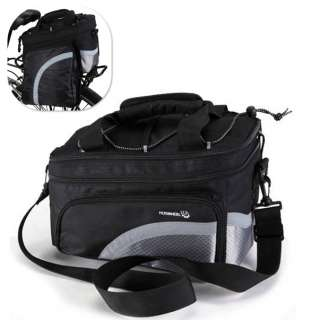 2012 New Cycling Bicycle Bag Bike Outdoor rear seat bag pannier Black