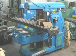 Cincinnati Horizontal Milling Machine 5 Dual Power