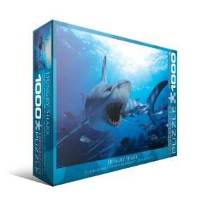 Hungry Shark 1000 Piece Puzzle: Toys & Games