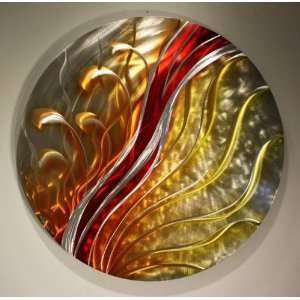 Modern Metal Wall Art, Home Decor, Wall Sculpture, Designed by Wilmos