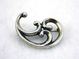 Vintage HTF 1960s JAMES AVERY Sterling SILVER Pin BROOCH Signed 4