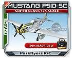 Topflight P 51D Mustang 1/7 scale RC model kit NIB Gold edition