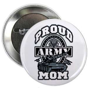 2.25 Button Proud Army Mom Tank