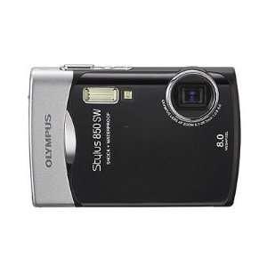 Olympus Stylus 850 SW 8.0MP Waterproof Black Digital Camera Camera