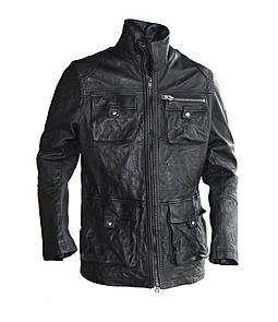 BRAND NEW SCHOTT Leather Field Jacket JF207 MSRP $600