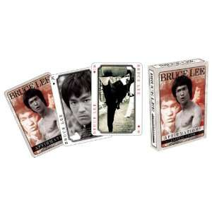 Bruce Lee Affirmations Playing Cards Toys & Games