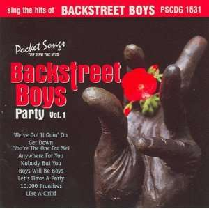 Hits Of Backstreet Boys Party Vol.1 (Karaoke) Backstreet Boys Music