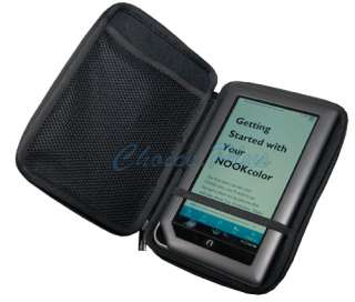 Nook Color Black Hard Cover Case Pouch