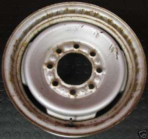 CHEVY Truck 8 Lug Steel Wheel OEM 16 x 6.5K
