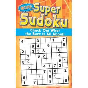 More Super Sudoku, Book 2 (9780766623019) Modern