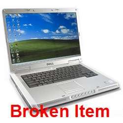 Dell Inspiron E1505 Core 2 Duo 1.83GHz BROKEN 071009008991