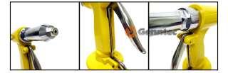 Pneumatic Air Pop Rivet Gun Tool Squeezer Riveter Kit