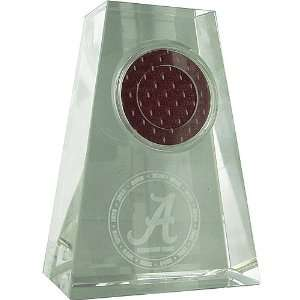Steiner Alabama Crimson Tide Logo Game Used Jersey Swatch