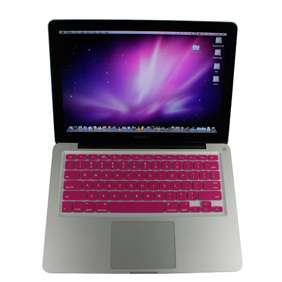 wholesale Pink Silicone Keyboard Skin Cover for Macbook pro 13 15