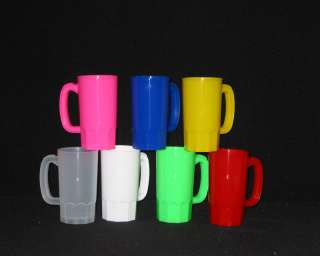 14  14 OZ.PLASTIC DRINKING CUPS, DRINKING MUGS, GLASSES