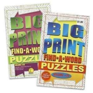 Puzzle Book 128 Pages Findaword USA Case Pack 72
