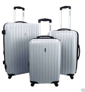 Heys VIAGGIO EXPAND 4WD Spinner Wheels Luggage SILVER