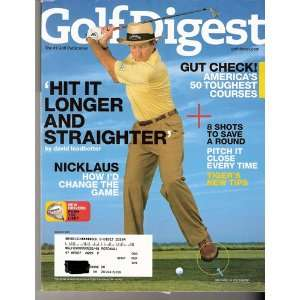Golf Digest March 2007 various Books