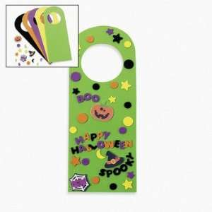 : Halloween Friends Doorknob Hanger Craft Kit   Craft Kits & Projects