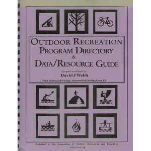 Outdoor Recreation Program Directory & Data/Resource Guide