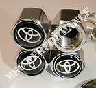 Toyota Wheel Tire Valve caps Supra Celica MR2 4Runner Tundra Camry