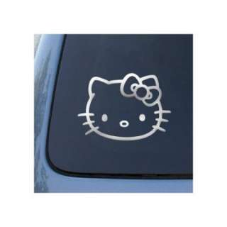 CHROME Hello Kitty Decal For Car,  Anything you Like
