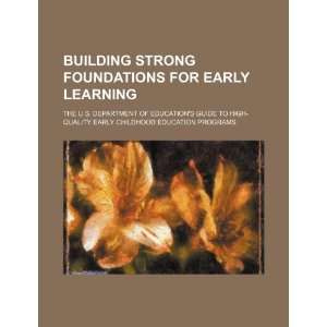 Building strong foundations for early learning: the U.S
