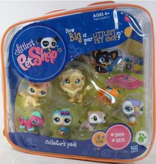 Pet Shop Collectors Pack Hasbro NIP starter (1569 1576) LPS