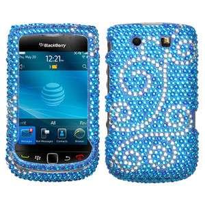 Diamond Bling Hard Case Cover BlackBerry Torch 4G 9800 9810