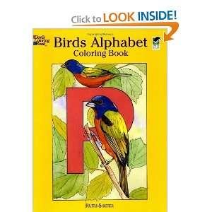 Birds Alphabet Coloring Book (Dover Nature Coloring Book