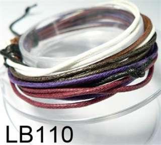 New Fashion Design Wholesale Wristband Genuine Leather Bracelet Cuff