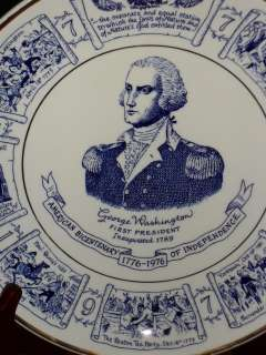 Lord Nelson Pottery GEORGE WASHINGTON Plate England