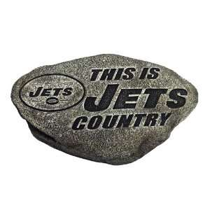 New York Jets NFL 13In Country Garden Stone Sports