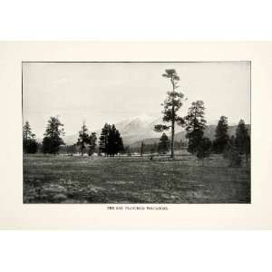 1902 Print San Francisco Volcanic Field Volcanoes Mountain