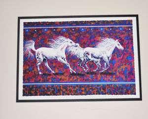 NATIVE AMERICAN INDIAN ART HORSES John Balloue