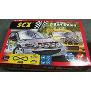 32 San Remo Slot Car Race Set, Analog (Slot Cars): Toys & Games