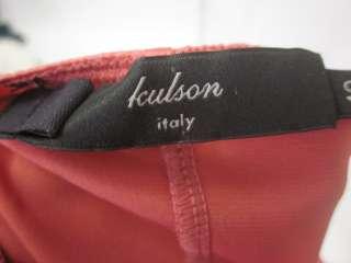 KULSON Pink Silk Spaghetti Strap Dress Slip Sz 40