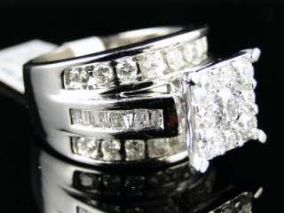 WHITE GOLD LADIES DIAMOND WEDDING ENGAGEMENT RING 2.2CT