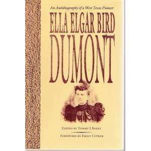 Barker Texas History Center Series) (9780292780897) Ella E. Dumont