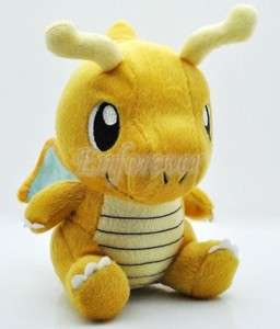 New 6.5 Pokemon Dragonite Plush Toy Doll Rare^PB10