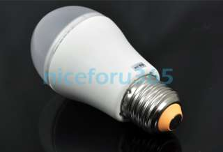 White Light Lamp Globe Bulb 110V 240V Low Consumption Recycle