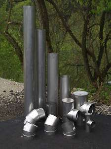 12 Long Stainless Steel Stove Pipe (Liner)