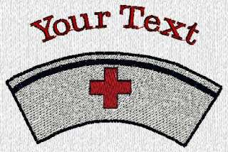 Custom embroidered Medical Doctor Nurse Polo shirt Text