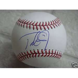 Trot Nixon Signed Baseball   Boston Red Sox Official Ml W coa