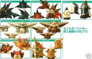 Monster Hunter Warrior Head Kabuto Bust Figure Dragon