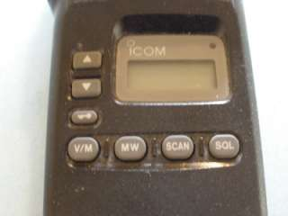 ICOM IC A4 Radio Air Band Aviation New Battery & Charger, manual and